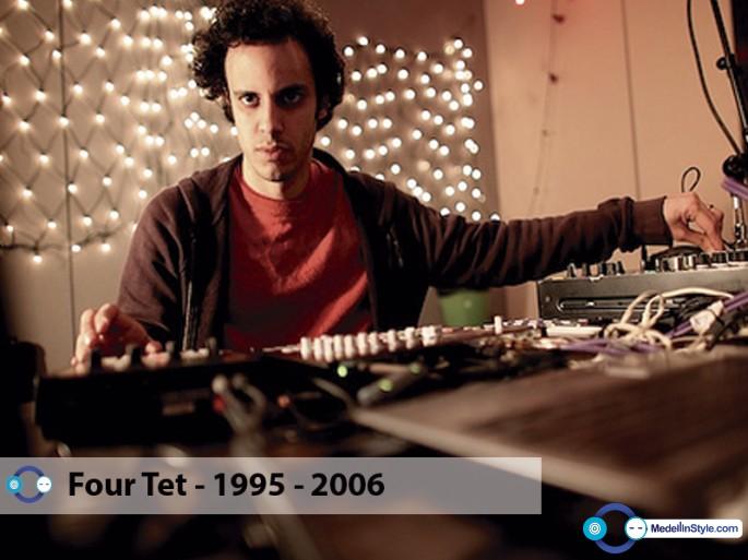 Four Tet y sus sesiones de 1995, 2001, 2005 y 2006