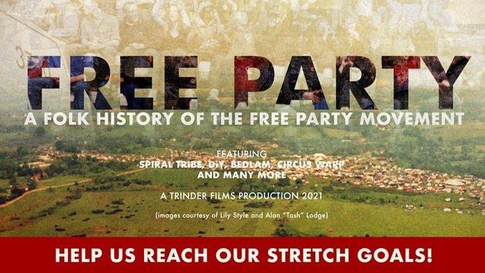 Mira un avance de 'Free Party', un nuevo documental sobre la escena de las fiestas gratuitas en el Reino Unido