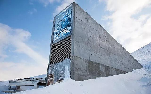 """Se esta creando una """"bóveda del fin del mundo"""" para guardar música en una isla entre el Polo Norte y Noruega"""