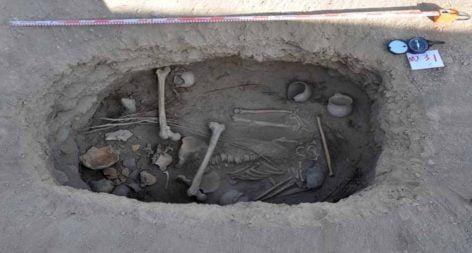 Hallan plantas de cannabis en una tumba de 2500 años en China