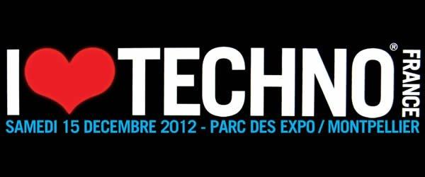 I Love Techno France 2012