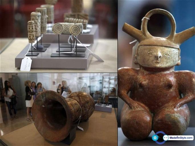 691 piezas arqueológicas colombianas regresan al país
