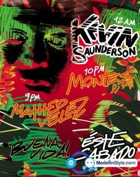 Escucha 3 tracksotes de Kevin Saunderson!