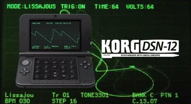 KORG convierte Nintendo 3DS en Sintetizador