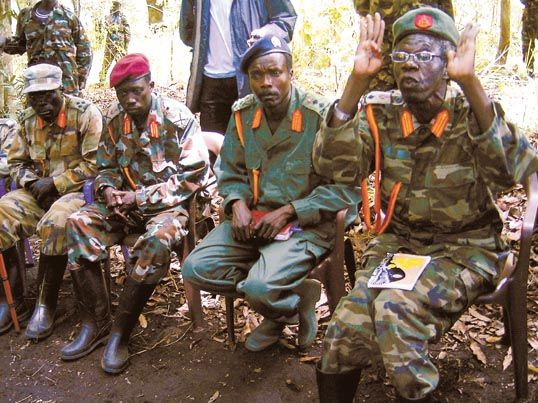 LRA Kony and commanders