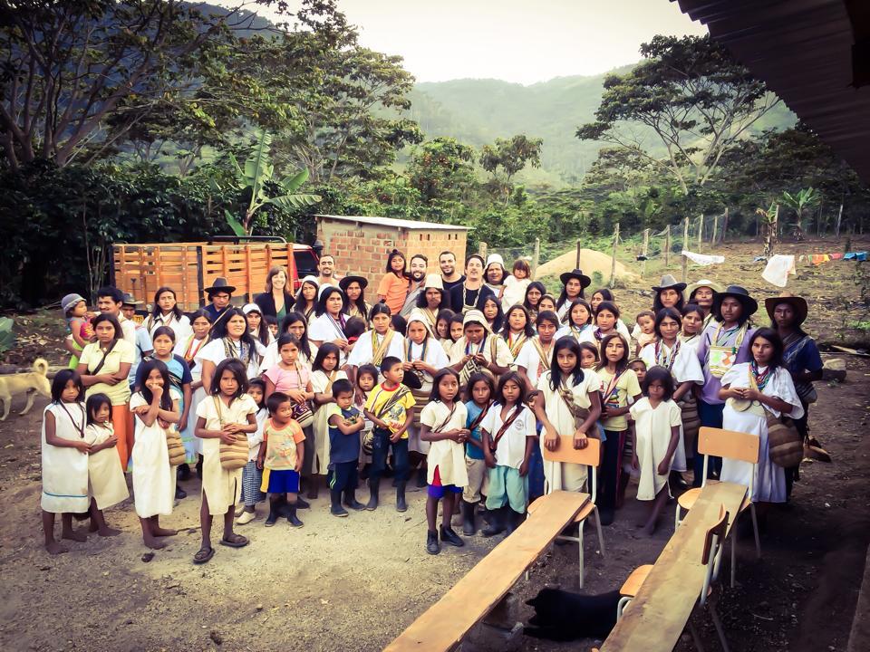 Luciano y su proyecto en Colombia