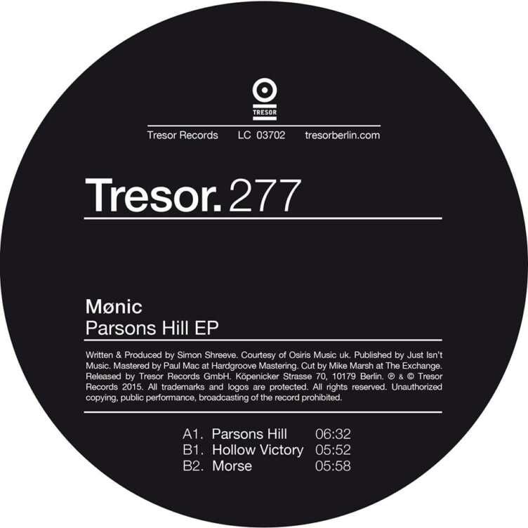 Mønic Parsons Hill EP
