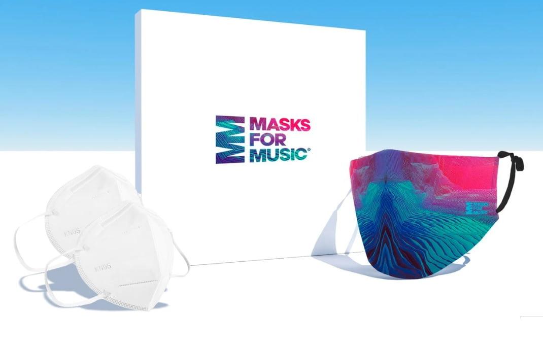 Masks for Music, la mascarilla solidaria para ayudar la industria musical global