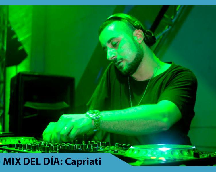 MIX DEL DÍA Joseph Capriati – Vinyl Techno Set in Berlín