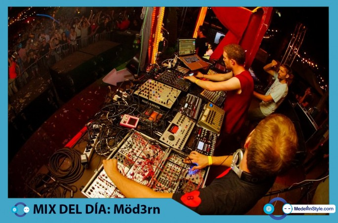 MIX DEL DÍA Möd3rn LIVE – Closing Inox 2014