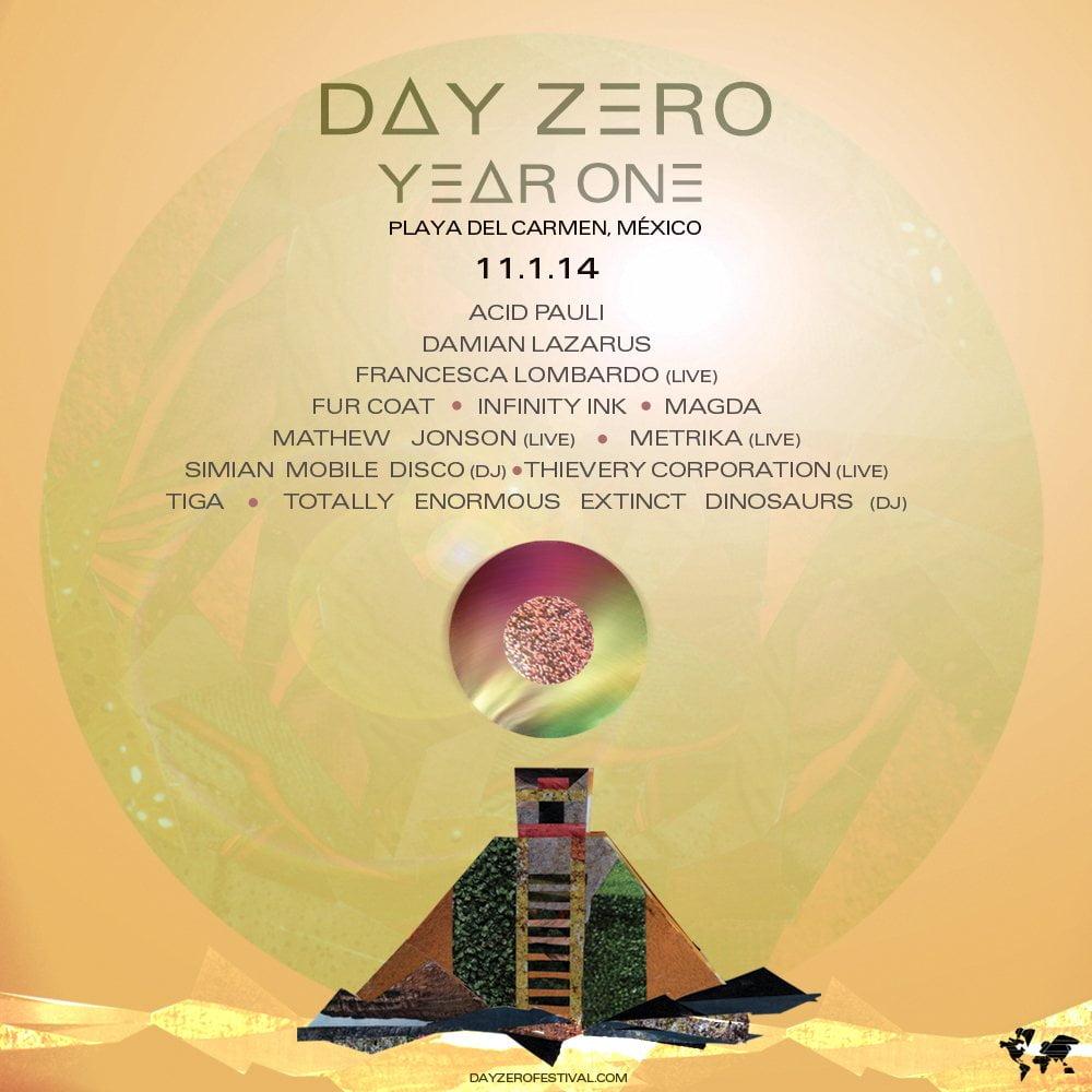 Magda, Tiga, Mathew Jonson y más en Day Zero Festival 2014