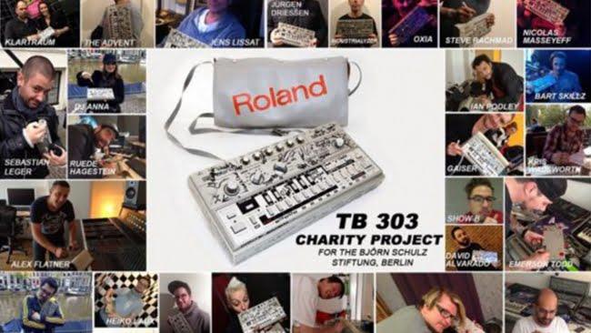Marc Romboy subasta su Roland TB 303
