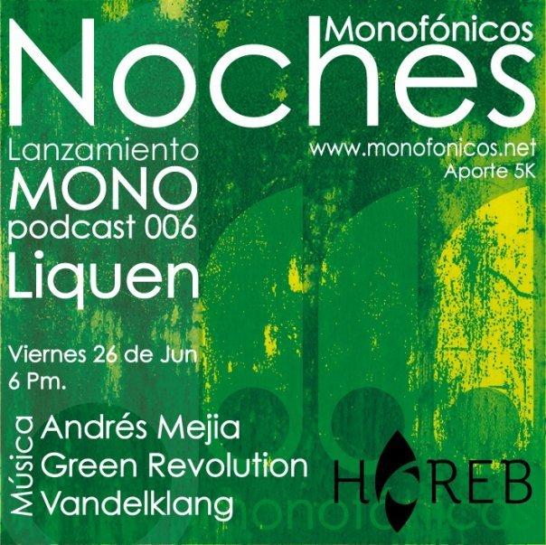 Lanzamiento MonoPodcast este Viernes en Horeb