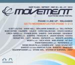 Movement Electronic Music Festival 2013 confirma todo su Line Up