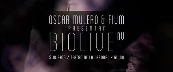 Óscar Mulero y Fium presentan Biolive...