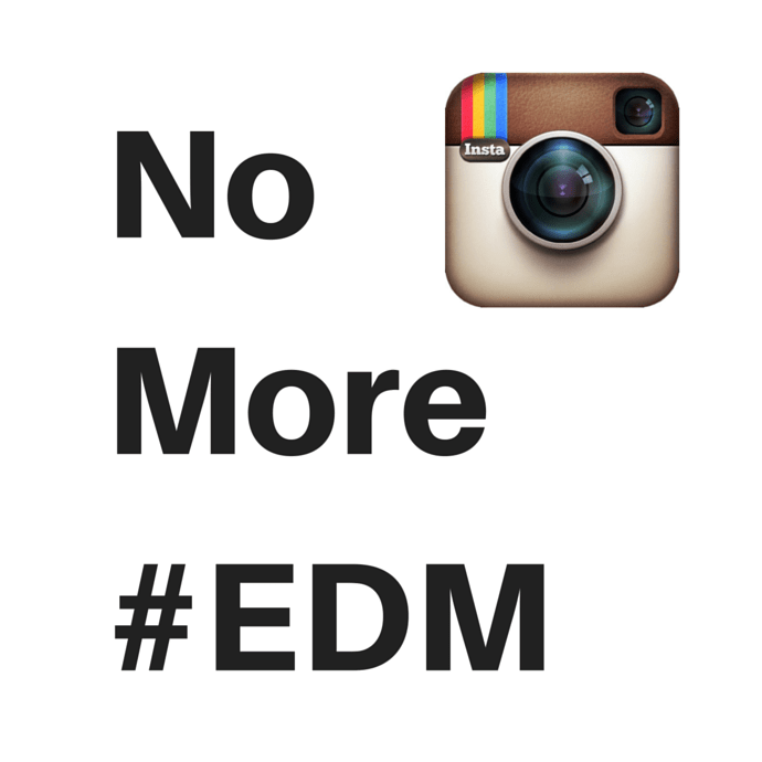 No More EDM