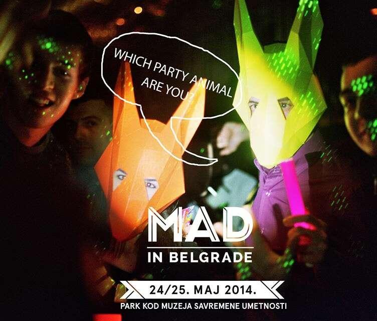 Omar S Neneh Cherry WhoMadeWho y más en MAD in Belgrade 2014