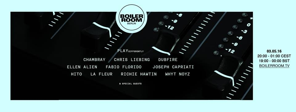PLAYdifferently MODEL 1 - Boiler Room