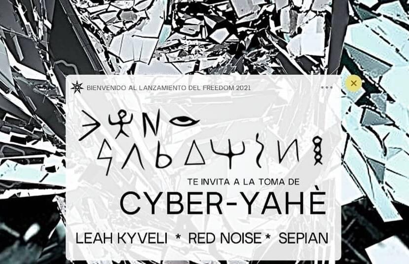 Este domingo en Amarna: Lanzamiento del FREEDOM con Dino Sabatini y zona de testeo CEDSS #CyberYahe