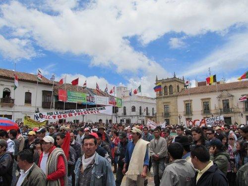 Protesta en Tunja Boyaca2