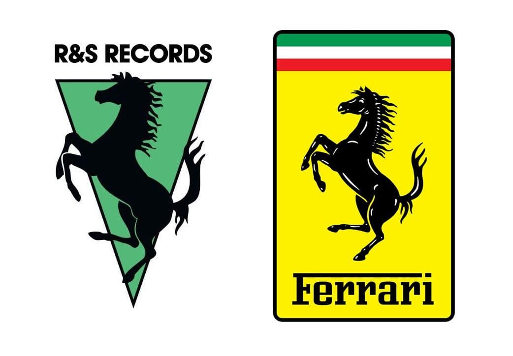 La marca de autos Ferrari obligó al sello belga R&S a cambiar su logo