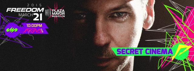 SECRET CINEMA: Descubre ésta sesión exclusiva para Colombia !!!