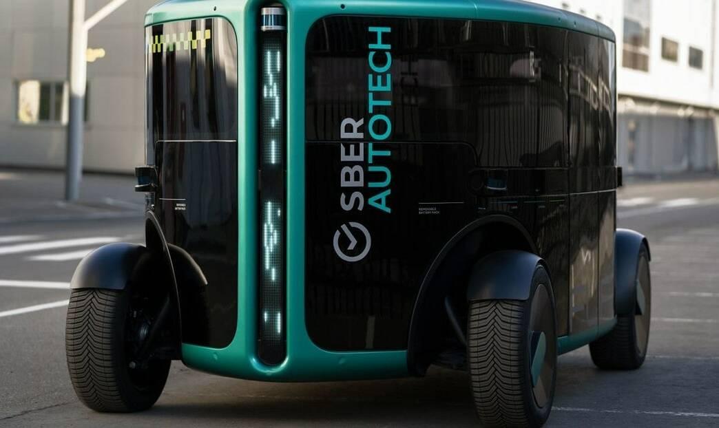VIDEO: Rusia presenta 'el taxi del futuro', un vehículo eléctrico totalmente autónomo