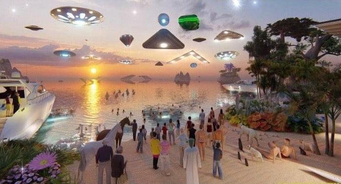 Los extraterrestres existen, pero la Histeria Humana no está preparada para ellos