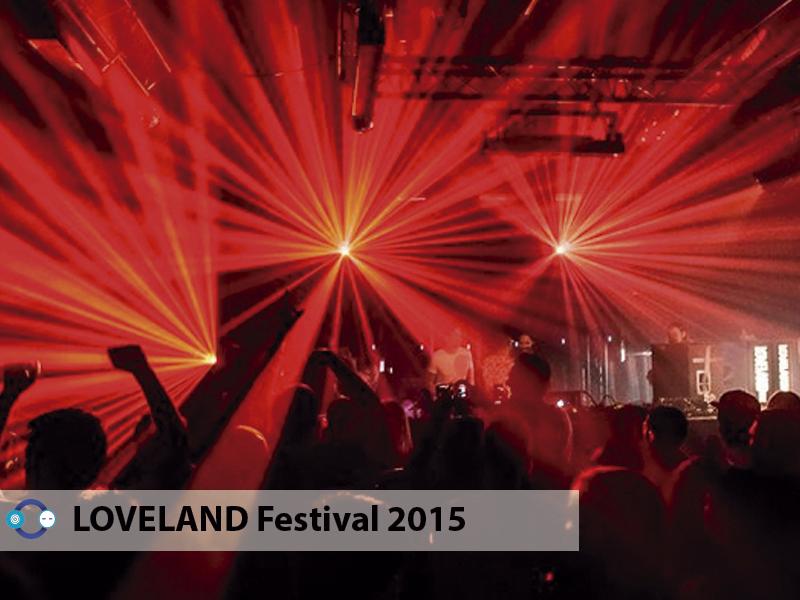 Secret Cinema, Mathew Jonson LIVE y Kollektiv Turmstrasse LIVE en LOVELAND Festival 2015