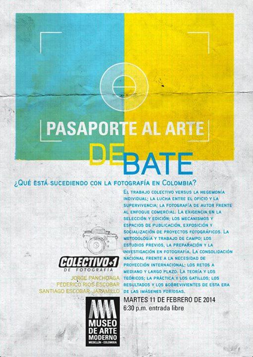 Taller Gratis Pasaporte al Arte – ¿Qué está sucediendo con la fotografía en Colombia