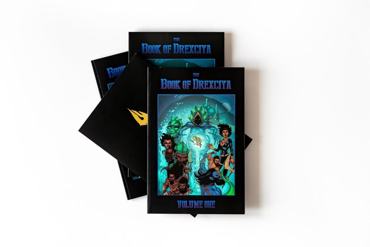 Tresor se complace en anunciar novela gráfica sobre Drexciya
