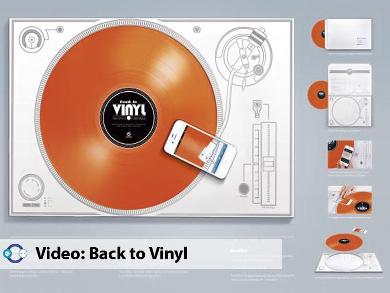 Video: Escuchar vinilos sin necesidad de tocadiscos