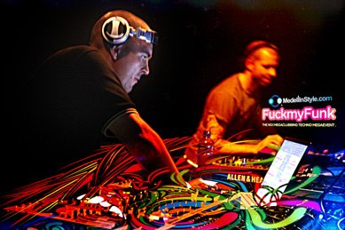 Free Goodie: SPEEDY J - Official FUCKMYFUNK Wallpapers 2011