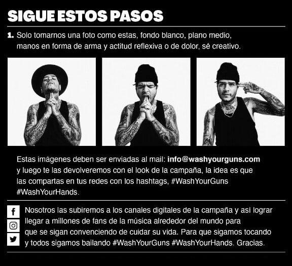 Wash Your Guns, una campaña sobre el cuidado de las manos desde la industria de la música electrónica