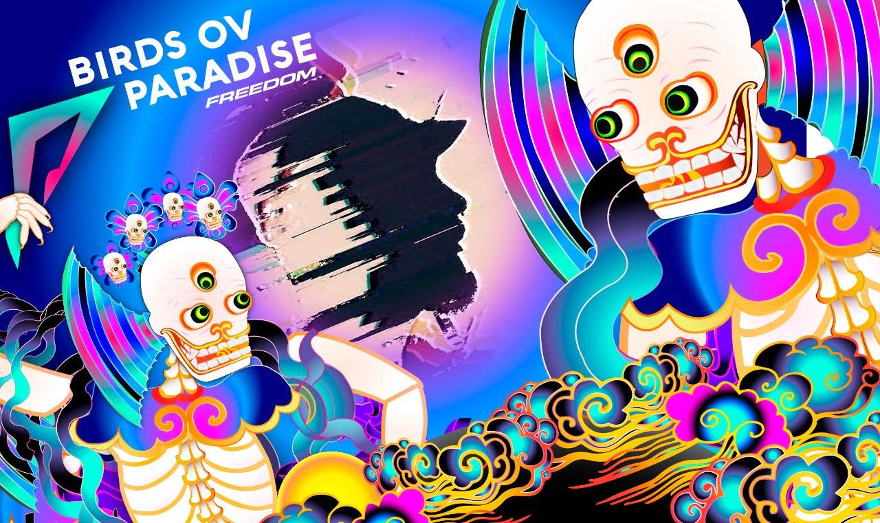Birds Ov Paradise acelera el latido del corazón con el colorido Konstrukt 010