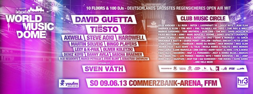 World Music Dome Festival 2013