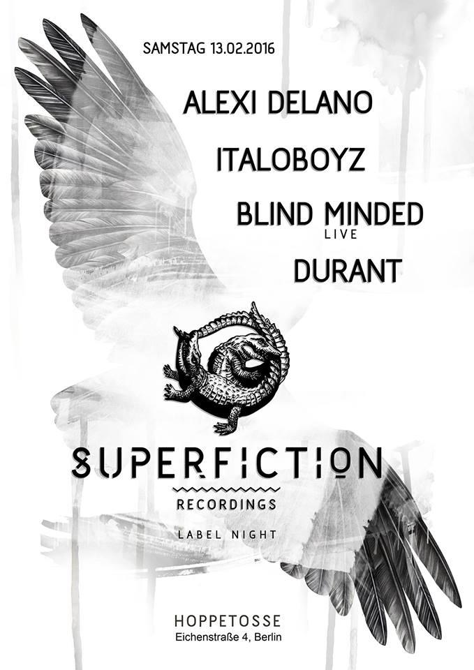 Alexi Delano y su sesion para Superfiction Recordings
