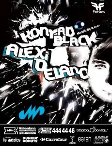 Este Sábado DERROCHE de Energía y música EXCLUSIVA con el BACK2BACK de ALEXI DELANO & KONRAD BLACK !!! Hasta que tu cuerpo aguante!!!