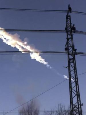 1000 lesionados y 3000 edificios afectados por caída de meteorito en Rusia