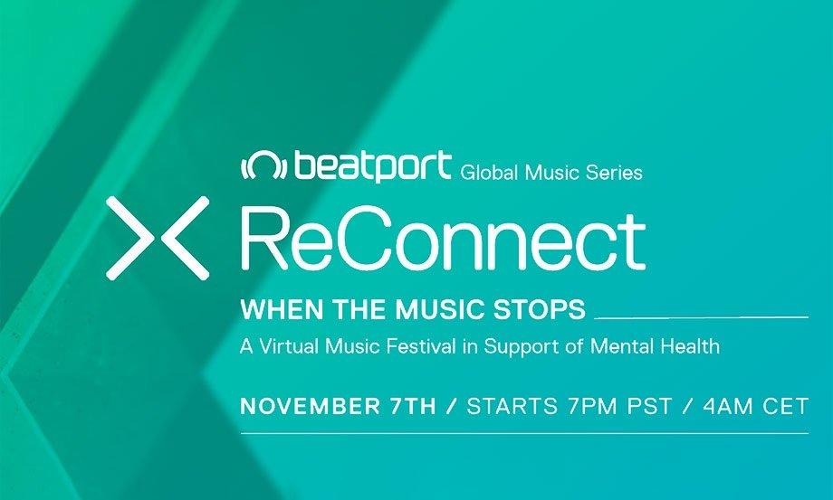 Beatport ReConnect inicia nueva edición virtual centrada en la salud mental