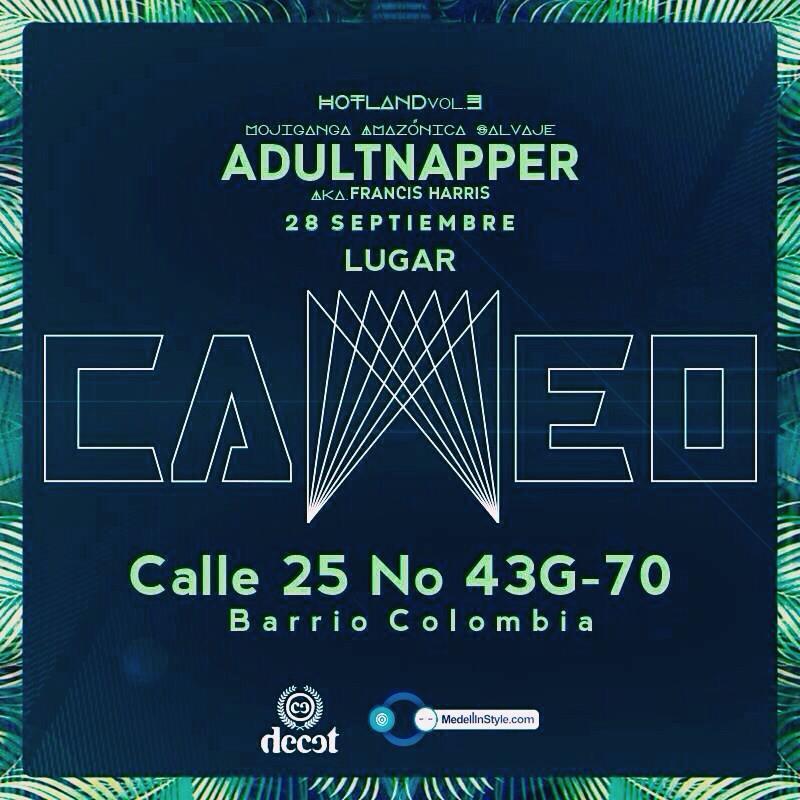 A la venta YA Boletas a $ 15.000 para Adultnapper en Gana & Domi 3004885656 @ Cameo Club (barrio colombia)