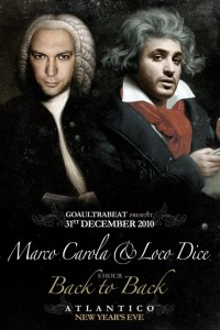 Mp3 : Marco Carola vs. Loco Dice Live @ Goaultrabeat, Atlantico, Rome, Italy (31-12-2010)