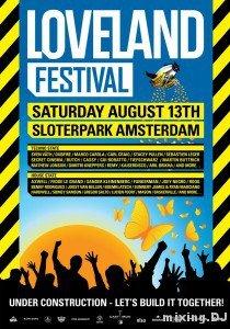 Mp3: Carl Craig – Live @ Loveland Festival 2011 (Amsterdam) – 13-08-2011