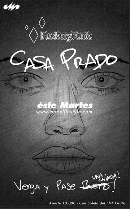 Mañana en Casa Prado abrimos a las 5PM ( Ver Mapa )
