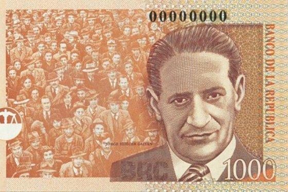 Billete de 1000 sale de circulación