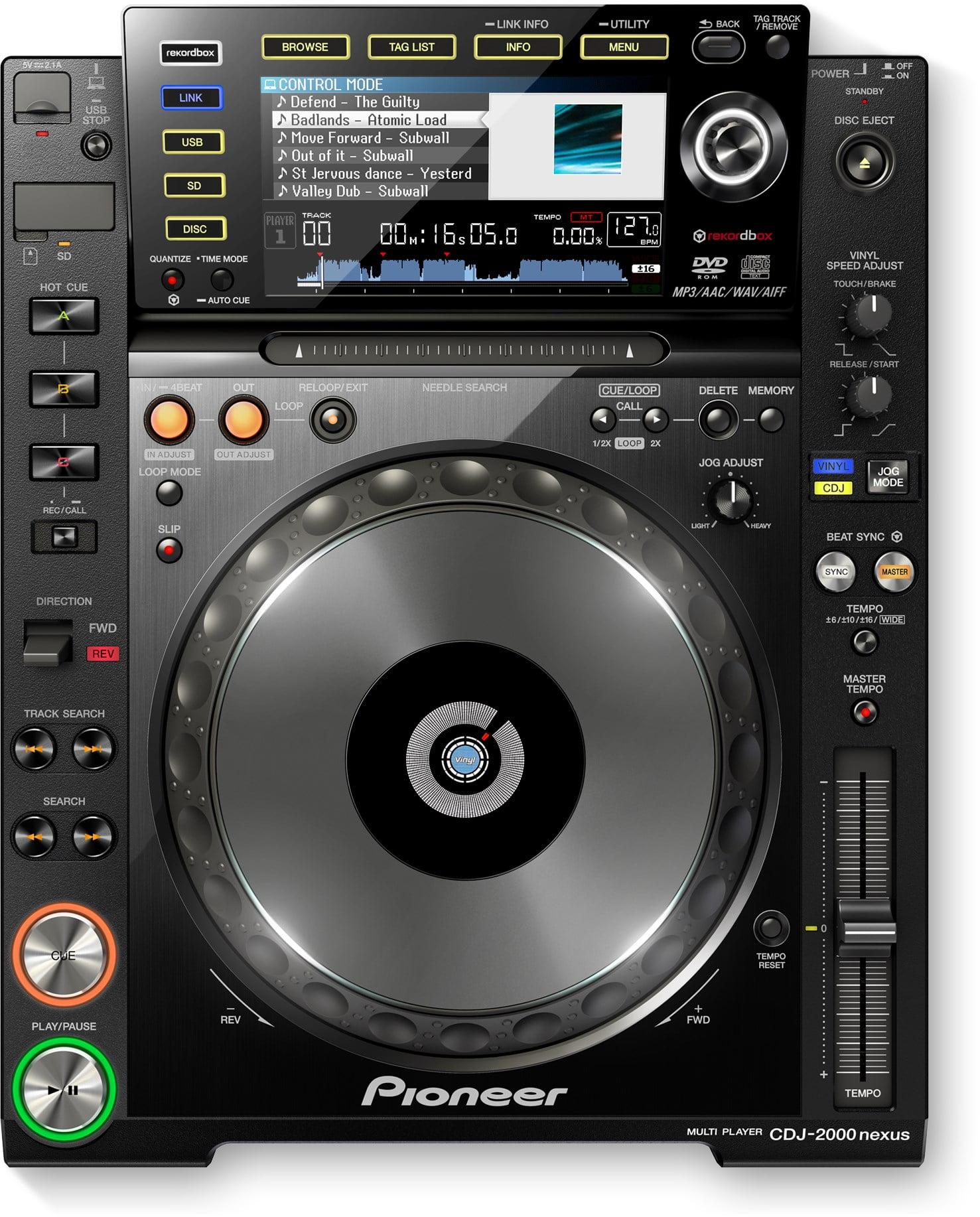 Pioneer presenta las DJ CDJ-2000 NEXUS 2