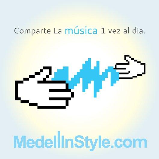 comparte la musica
