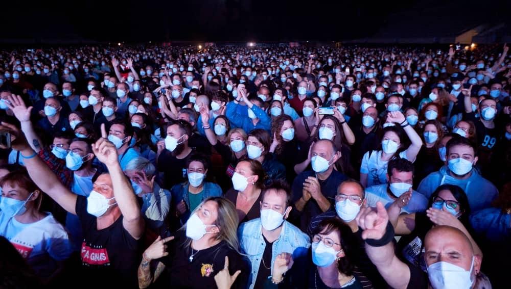 El concierto masivo realizado en Barcelona como experimento clínico