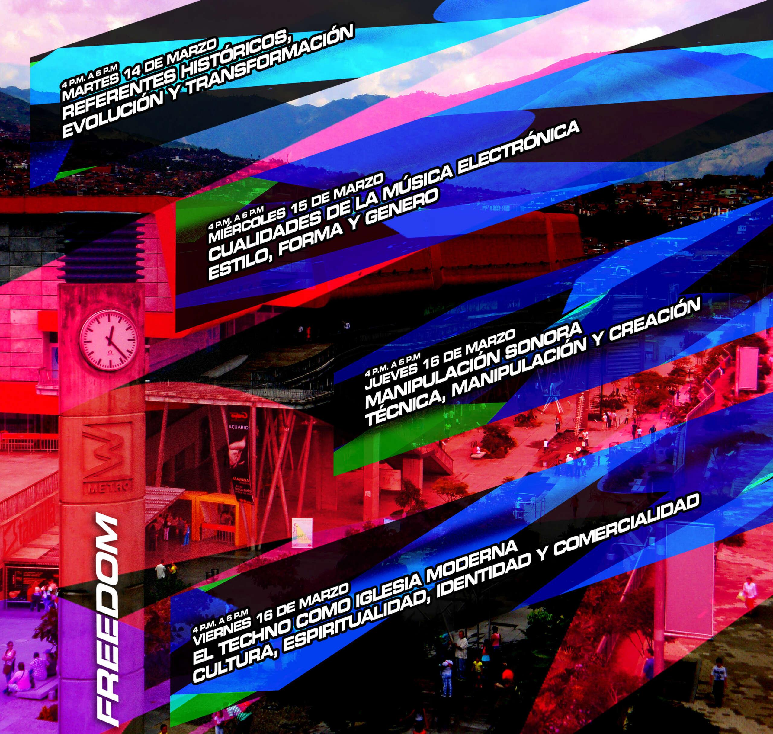 FREEDOM17: Ésta es la Programación académica del Festival del 14 al 17 de Marzo en el Parque Explora