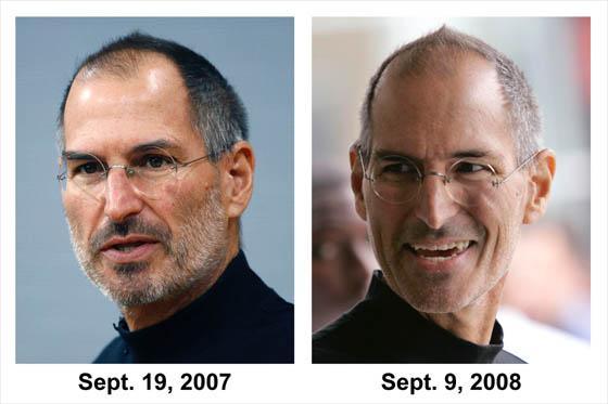 Steve Jobs el genio de la Apple está enfermo.